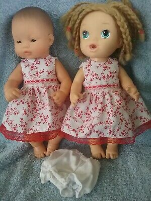 32cm Miniland and Baby Alive Dress