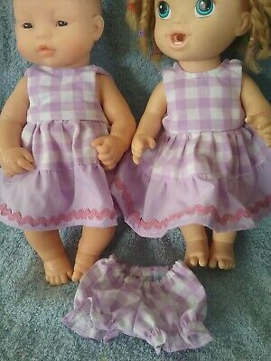 32cm Miniland and Baby Alive  Doll clothes
