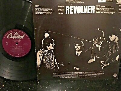 "The Beatles ""Revolver"" LP Record Vinyl Capitol Records"