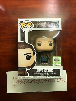 Funko POP Game of Thrones: Arya Stark 2019 ECCC Spring Convention BoxLunch