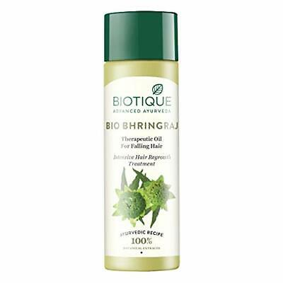 Biotique Bio Bhringraj Fresh Growth Therapeutic Oil for Falling Hair, 120ml
