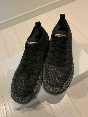 NIKE AIR VAPORMAX FLYKNIT 2 Sneakers Color Black x Dark Grey Men's Fashion