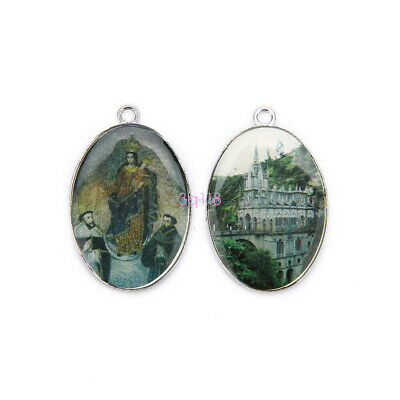 High Quality Catholic Faith Religious Enamel Medals Charms Pendants Accessories