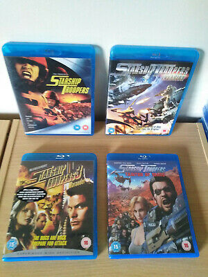 Starship Troopers Blu Ray Bundle UK Release FREE POST