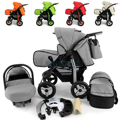 LIMITED BIG SALE Baby Pram Stroller Pushchair Car seat Carrycot Buggy Travel