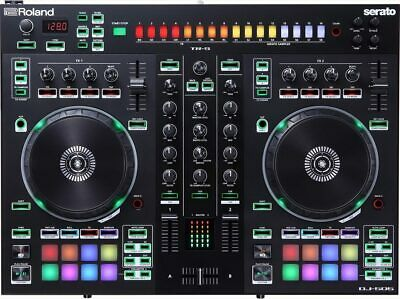 Roland Dj-505 Dj Controller Usb Midi For Serato With Sequencer And Drum Machine