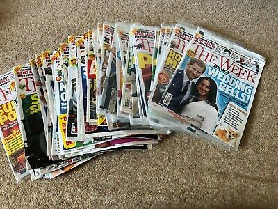 72 issues of The Week Junior magazine (24 are brand new) from 2017 to 2108