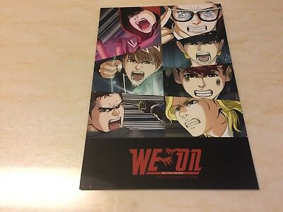 BTS Comic [ WE ON : BE THE SHIELD Official Photocard Dark & Wild ] / NEW / +GFT