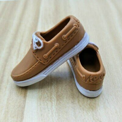 Brown Casual Shoes For Barbie Ken Male Doll 1:6 Boy Doll Accessories Mini Shoes