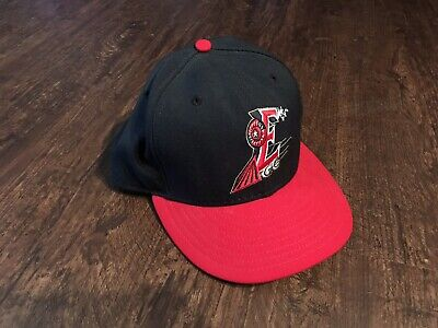 factory price eaf73 10ce4 Vtg New Era Round Rock Express MiLB Fitted Wool Hat Baseball Cap 7 5 8