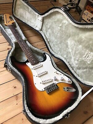 Vintage E-Gitarre Stratocaster Made by Pearl