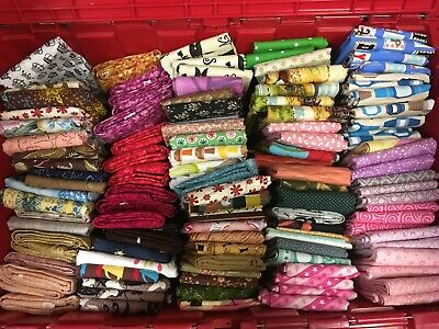 Grab Bag! Clearance Sale -Top Quality Cotton Quilting Fabric - 16 YARDS Total