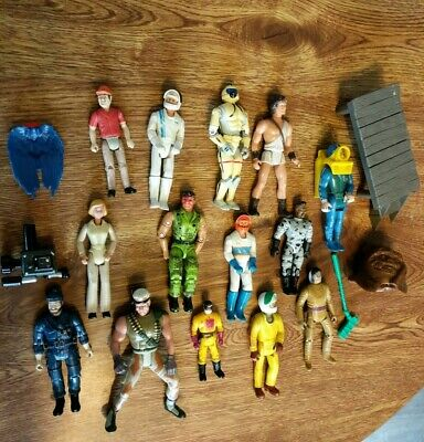 Lot Of 70s 80s Action Figures Toys Tonka Kenner Nylint Remco Playmates Cartoons