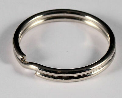New Split Rings Key Ring - 15mm 20mm 25mm 30mm 50mm - Pack Size 1 to 30 -Keyring