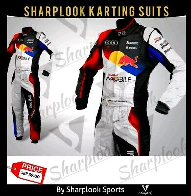 Redbull-Go Kart Racing Suit Cik Fia Level Ii (Sublimation Printing )