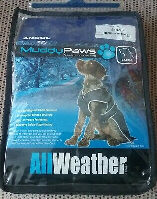 Ancol Muddy Paws Stormguard Spice Red All Weather Large Dog Coat NEW In Packet