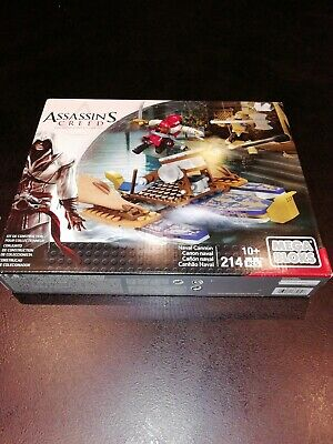 ASSASSIN/'S CREED MEGA BLOKS CANON NAVAL  COLLECTOR N°CNG11