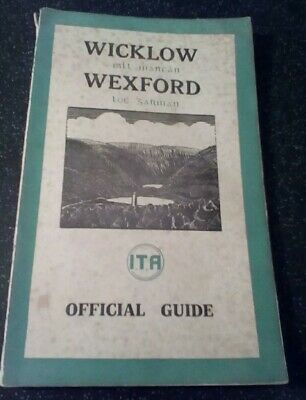 Wicklow Wexford official guide antique rare guidebook, ITA