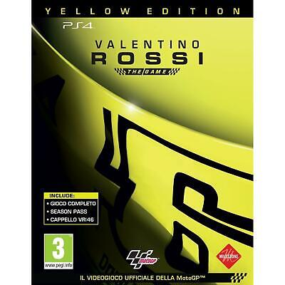 Valentino Rossi: The Game - Yellow Edition - PlayStation 4 NUOVO SIGILLATO