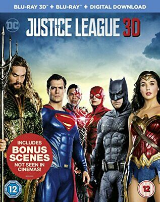 Justice League [Blu-ray 3D + Blu-ray Digital Download] [2017]