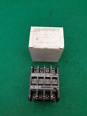 IMO / Jager K2-16 A10 Contactor 110 Volt Coil 8.5Kw