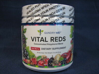 Gundry MD Vital Reds Concentrated Polyphenol Blend - 4oz  New & Sealed
