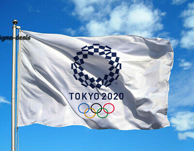 2020 Summer Olympics Tokyo Japan FLAG Banners 3x5ft Fast Free shipping