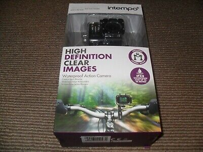 Foto & Camcorder Intempo Ee2233stkeu Waterproof Wide Angle Ipx8 Action Camera