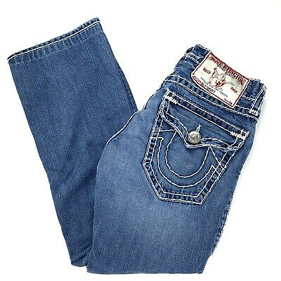 177ab387d TRUE RELIGION  179 Men s Billy FWFD Axis Bootcut Jeans - 102191 ...