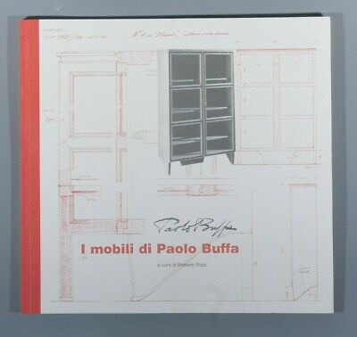 Rizzi Roberto I Mobili Di Paolo Buffa 2001 rare exhibition catalogue furniture