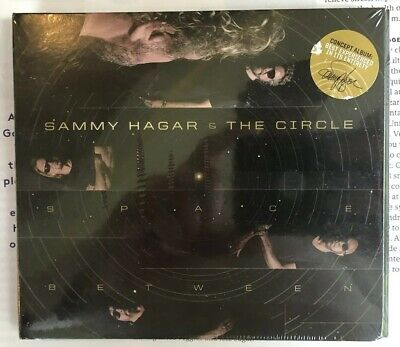 Sammy Hagar & The Circle -Space Between - Brand New CD - Fast, FREE Shipping