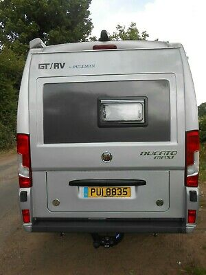 Fiat Ducato Citroen Relay Peugeot Boxer 06 On Rear Motorhome Panel With Opener