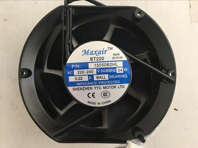 "2pcs x BRAND NEW Univeral 150mm / 6""Inch 220-240V AC Cooling Fan/ Cooler Fan 2pc"