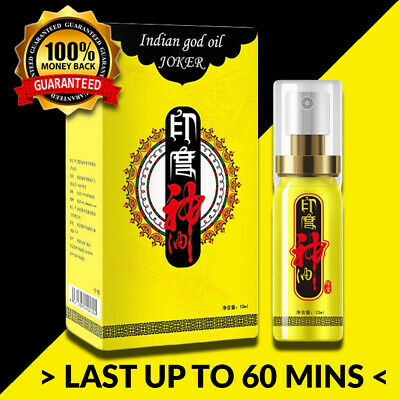 God Oil Mens Natural Premature Ejaculation Sexual Delay Spray Last Longer