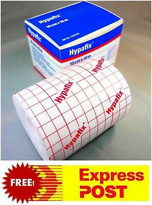 Hypafix Dressing Retention Tape Sheet 10cm x 10m   Joints & Wide Areas