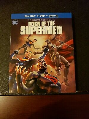 Reign of the Supermen Blu-ray/DVD, 2019, 2-Disc