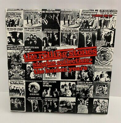 Vintage 1989 The Rolling Stones Singles Collection The London Years 3 CD Box Set