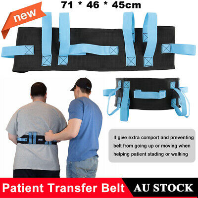 Gait Belt Transfer & Walking Moving Tool Buckle Patient Safety Transfer Belt