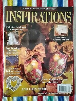 Inspirations Embroidery Magazine - Issue 4 - 1994  -  Excellent Condition