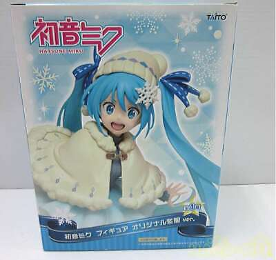 PRIZE TAITO PRODUCT Hatsune Miku Figure Original Winter