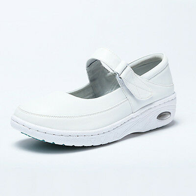 White Nurse Shoes Nursing Work Shoes Newest Resistant Comfort Mary Jane Slip