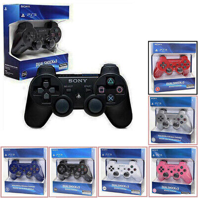 UK Sony PlayStation 3 Controller Bluetooth Wireless Sony Dual Shock PS3 Gamepad
