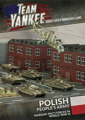 Poles (24p Booklet  39 Cards) Battlefront Miniatures Brand New TY504