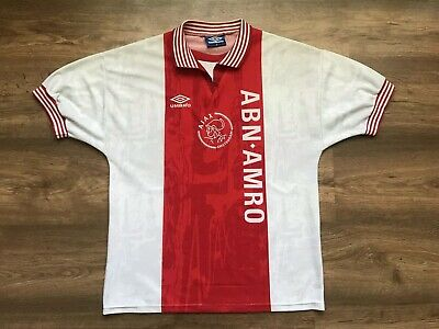 Vintage Ajax Amsterdam Holland 1996/1997 Home Football Shirt Jersey Maglia Umbro