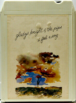 GLADYS KNIGHT & THE PIPS I Feel A Song  8 TRACK CARTRIDGE