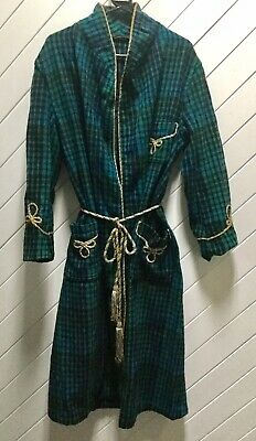Vintage Men's  All Wool Dressing Gown By Marquis.