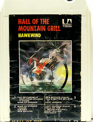 HAWKWIND Hall Of The Mountain Grill  8 TRACK CARTRIDGE