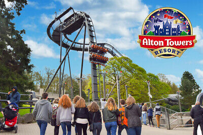 Alton Towers Resort Tickets | Any Date | July August September | E Tickets