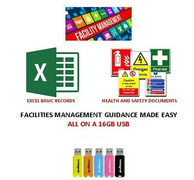 B. Facilities Management USB - Health and Safety Documents - Basic Excel Records
