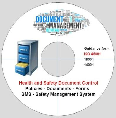 6. ISO45001 Compliance-18001,14001,Doc.Control-Health and Safety Documents-Disc